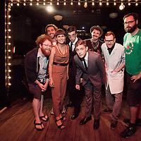 Nat Towsen, Bob Walles, Camille Harris, Jordan Clifford - The Moon - July 17, 2012 - Union Pool, Brooklyn, NY