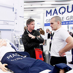 120321 - Brussels - Belgium - Maquet Critical Care at the 32nd edition of the International Symposium on Intensive Care and Emergency Medicine © Maquet/ Patrick Mascart