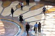 Shoppers at Istinye Park shopping center mall near the Levent financial and business district of Istanbul, Turkey