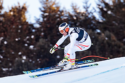 29.12.2017, Stelvio, Bormio, ITA, FIS Weltcup, Ski Alpin, alpine Kombination, Abfahrt, Herren, im Bild Romed Baumann (AUT) // Romed Baumann of Austria in action during the downhill competition for the men's Alpine combination of FIS Ski Alpine World Cup at the Stelvio course, Bormio, Italy on 2017/12/29. EXPA Pictures © 2017, PhotoCredit: EXPA/ Johann Groder