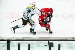 Alps Hockey League match between EC Bregenzerwaldl and HDD SIJ Jesenice, on November 20, 2020 in Ice Arena Podmezakla, Jesenice, Slovenia. Photo by Peter Podobnik / Sportida