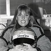 NLD/Huizen/19940112 - Agnes de Groot Huizen, winnaar Veronica Contest