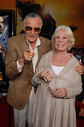 Stan Lee attends the premiere of Paramount Pictures 'Iron Man' at the Chinese Theatre in Hollywood, Los Angeles, CA, USA on April 30, 2008. Photo by Lionel Hahn/ABACAPRESS.COM