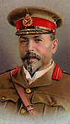 'Louis Botha (1862-1919) South African soldier and statesman, first Premier of the Union of South Africa. In First World War led the Union forces to victory in German South West Africa 1914-1915. Chromolithograph.'