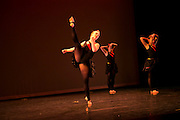 Dance Wisconsin dancers rehearse Habanera at Madison College in Madison, Wisconsin on October 12, 2012.