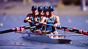 2000 Sydney Olympic Game, Olympic Regatta, Penrith Lakes, Penrith, NSW. AUSTRALIA:STEWART, James, DODWELL, Ben Philip, STEWART, Geoff and HANSON, Boden Joseph..Peter Spurrier. .email images@intersport-images... 2000 Olympic Regatta Sydney International Regatta Centre (SIRC) 2000 Olympic Rowing Regatta00085138.tif