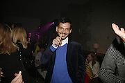 Matthew Williamson, Sienna Miller  new ambassador party. 17 Berkeley Street, London, W1.  4 October 2006. -DO NOT ARCHIVE-© Copyright Photograph by Dafydd Jones 66 Stockwell Park Rd. London SW9 0DA Tel 020 7733 0108 www.dafjones.com
