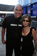 Chang Wiesberg and Jill Newman at The 2009 Rock the Bells Concert presented by Guerilla Union in association with Budweiser and held at Jones Beach July 19, 2009 in Babylon, NY..Few events can claim to both capture and define a movement, yet this is precisely what Rock The Bells has done since its inception in 2003. Rock The Bells is more than a music festival. It has become a genuine rite of passage for thousands of core, social, conscious, and independent Hip Hop enthusiasts, and Hip Hop Heads Globally. ..Rock The Bells is the ultimate Hip Hop platform and premiere music experience in America. Rock The Bells has established a forum of unparalleled diversity and excellence by uniting the biggest names involved with urban culture.