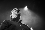 Samuel T. Herring of American post-wave band Future Islands at Schlachthof Wiesbaden