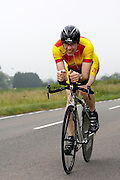 UK, Chelmsford, 28 June 2009: TREVOR AVIS (V) TEAM CAMBRIDGE completed the E9 / 25 course in 1 hour 4 mins 28 secs. Images from the Chelmer Cycle Club's Open Time Trial Event on the E9 / 25 course. Photo by Peter Horrell / http://peterhorrell.com .