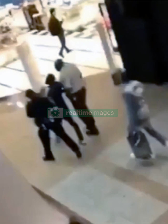 EXCLUSIVE: ** NO USA TV AND NO USA WEB ** Former boxing champ Adrien Broner was arrested in Atlanta Monday night for allegedly sexually assaulting a woman at a local shopping mall, TMZ Sports has confirmed. 13 Feb 2018 Pictured: Former boxing champ Adrien Broner was arrested in Atlanta Monday. Photo credit: TMZ/MEGA TheMegaAgency.com +1 888 505 6342