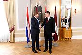 Staatsbezoek aan de Republiek Letland Dag 1