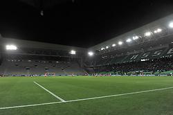 December 15, 2017 - Saint Etienne - Stade Geoffroy, France - Stade Geoffroy Guichard avec 2 tribunes a huis clos (Credit Image: © Panoramic via ZUMA Press)