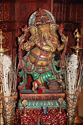 Ganesha the elephant God lord of success and destroyer of evils and obstacles,