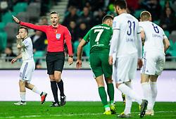 Damir Skomina, referee during Football match between NK Olimpija and NK Maribor in 23rd Round of Prva liga Telekom Slovenije 2018/19 on March 16, 2019, in SRC Stozice, Ljubljana, Slovenia. Photo by Vid Ponikvar / Sportida