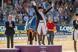 Gold medal, Freestyle, Werth Isabel, GER<br /> European Championship Dressage<br /> Rotterdam 2019<br /> © Hippo Foto - Dirk Caremans