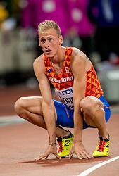 11-08-2017 IAAF World Championships Athletics day 8, London<br /> Richard Douma NED komt er niet aan te pas. De Nederlander had bij de beste zeven moeten zitten, maar wordt afgetekend laatste in zijn halve finale.