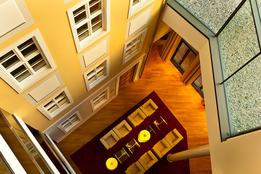 Interior view of the Innside by Melia Hotel, Dresden, Saxony, Germany