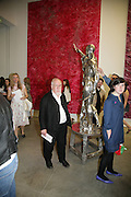 PETER BLAKE, Beyond Belief-Damien Hirst. White Cube Hoxton and Mason's Yard.Party  afterwards at the Dorchester. Park Lane. 2 June 2007.  -DO NOT ARCHIVE-© Copyright Photograph by Dafydd Jones. 248 Clapham Rd. London SW9 0PZ. Tel 0207 820 0771. www.dafjones.com.