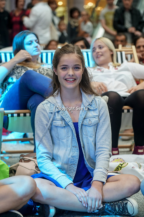 London, UK. 3rd September 2017.Finalists Josephine Shaw  at the Mayor Of London Gigs at Westfield London.