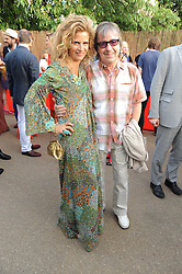 BILL & SUZANNE WYMAN at the annual Serpentine Gallery Summer party this year sponsored by Jaguar held at the Serpentine Gallery, Kensington Gardens, London on 8th July 2010.  2010 marks the 40th anniversary of the Serpentine Gallery and the 10th Pavilion.