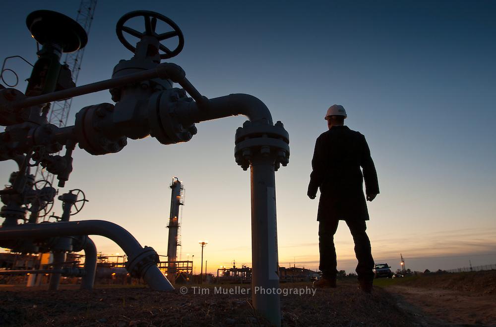 MSA safety equipment monitors the PetroLogistics facility in Sulphur, Louisiana. PetroLogistic operates a seven-mile ethylene pipeline connecting the company's salt dome storage facilities at Sulphur, Louisiana, to Sasol's chemical complex in Westlake, Louisiana.