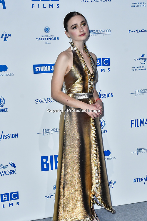 Jessica Barden attends the 22nd British Independent Film Awards at Old Billingsgate on December 01, 2019 in London, England.