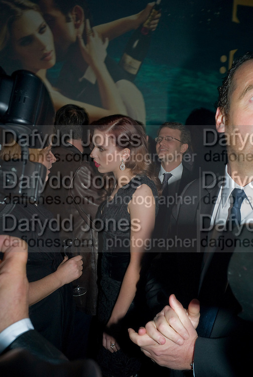 Scarlett Johansson, A Tribute to Cinema party given by Moet and Chandon.Big Sky Studios, Brewery Rd. London.  24 March 2009 *** Local Caption *** -DO NOT ARCHIVE-© Copyright Photograph by Dafydd Jones. 248 Clapham Rd. London SW9 0PZ. Tel 0207 820 0771. www.dafjones.com.<br /> Scarlett Johansson, A Tribute to Cinema party given by Moet and Chandon.Big Sky Studios, Brewery Rd. London.  24 March 2009