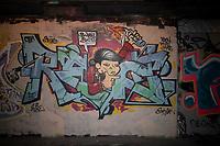 Black Lives Matter Street Art Graffiti Leake Street Tunnel london photo by brian jordan