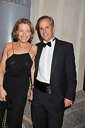 Bernard De la Villardiere and GAELLE KERGUS-JONES at the Relais & Chateaux 'Diner des Grands Chefs' held at Old Billingsgate, London EC3 on 22nd April 2013.