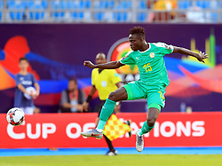 July 14, 2019 - Cairo, Egypt - Krepin Diatta(15) of Senegal during  the match Tunisia vs Senegal semi-final at the June 30 stadium in Cairo..Total Africa Cup of Nations Egypt 2019 .photo: Chokri Mahjoub  (Credit Image: RealTime Images)