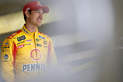April 6, 2018 - Ft. Worth, Texas, United States of America - April 06, 2018 - Ft. Worth, Texas, USA: Joey Logano (22) gets ready to practice for the O'Reilly Auto Parts 500 at Texas Motor Speedway in Ft. Worth, Texas. (Credit Image: © Stephen A. Arce Asp Inc/ASP via ZUMA Wire)
