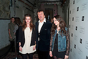 SALOME BURSTEIN; SIMON BURSTEIN; DORIANE WALTINNE; , Browns Club Monaco launch. hosted by Lou Doillon, at the Schools of the Royal Academy of Art. Piccadilly, London. 19 February 2010.  .-DO NOT ARCHIVE-© Copyright Photograph by Dafydd Jones. 248 Clapham Rd. London SW9 0PZ. Tel 0207 820 0771. www.dafjones.com.