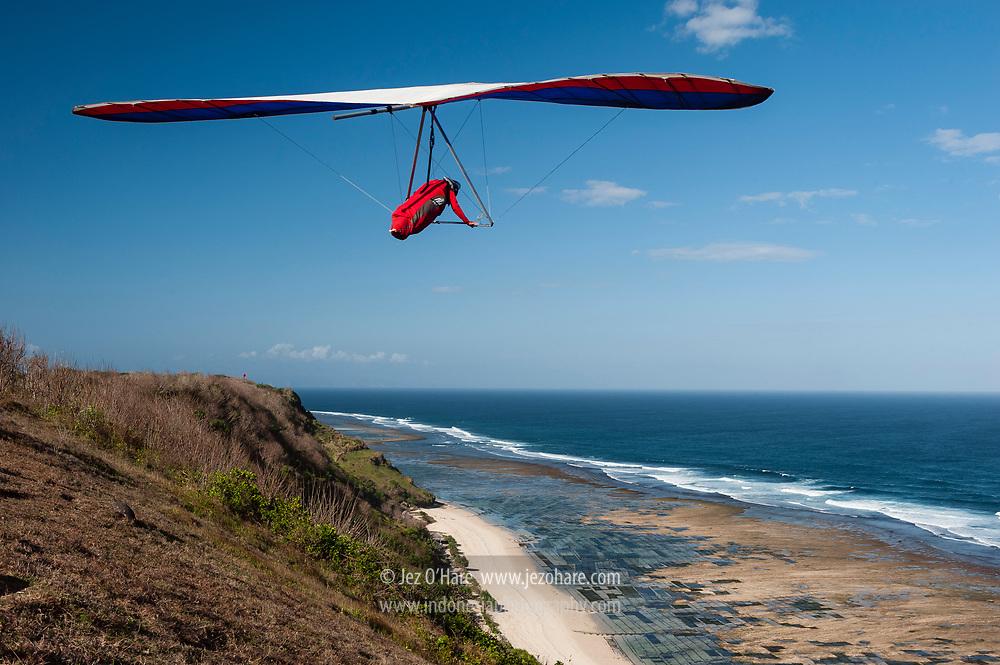 Hang Gliding, Timbis, Bali, Indonesia