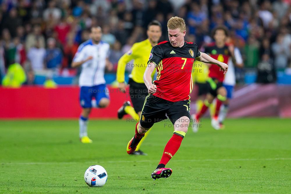 13-06-2016 FRA: UEFA EURO Belgie - Italie, Lyon<br /> België verliest met 2-0 van Italie / Kevin De Bruyne (Belgia)<br /> <br /> ***NETHERLANDS ONLY***