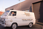Mike Anderson and the 1966 Dodge Tanner Goods Van