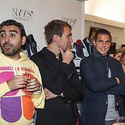 NLD/Amserdam/20131115 - Opening Nyves2, Mimoun Ouled Radi en oa Wesley Verhoek