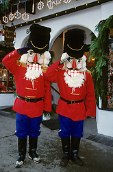 North America, USA, Washington, Leavenworth. Nutcracker at annual Christmas festival