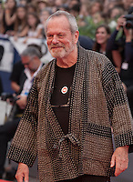Terry Gilliam at the gala screening for the film Black Mass at the 72nd Venice Film Festival, Friday September 4th 2015, Venice Lido, Italy.