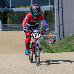 05-05-2020: Wielrennen: BMX KNWU: Papendal Laura Smulders