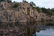Wichita Mountains in southwest Oklahoma