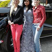NLD/Haarzuilens/20120425 - Opening tentoonstelling Bruidjes van de Haar, Kristel Hoekstra - Reijnhout, Linda Wagenmaker, Mariska Bauer - Rosenberg