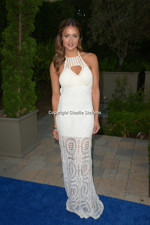 Katie Cleary arrives at the Mercy For Animals' Annual Hidden Heroes Gala on September 10, 2016 at Vibiana, Los Angeles, California (Photo: Charlie Steffens/Gnarlyfotos)