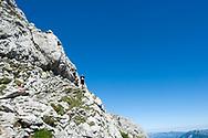 The trail to Taubenkogel. Dachstein, Salzkammergut, Austria © Rudolf Abraham