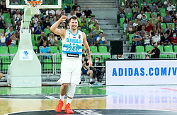 Luka Doncic of Slovenia during friendly basketball match between National teams of Slovenia and Croatia, on June 18, 2021 in Arena Stozice, Ljubljana, Slovenia. Photo by Vid Ponikvar / Sportida