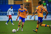 Ollie Clarke of Mansfield Town (8) during the The FA Cup match between Mansfield Town and Dagenham and Redbridge at the One Call Stadium, Mansfield, England on 29 November 2020.