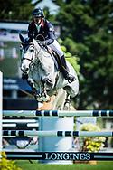 Mathieu BILLOT (FRA) riding VENT DU SUD KERGLENN during the Derby Region Pays de la Loire Competition of the International Show Jumping of La Baule 2018 (Jumping International de la Baule), on May 19, 2018 in La Baule, France - Photo Christophe Bricot / ProSportsImages / DPPI