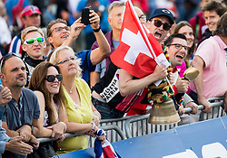 Supporters of Switzerland during the Men Under 23 Road Race 179.9km Race from Kufstein to Innsbruck 582m at the 91st UCI Road World Championships 2018 / RR / RWC / on September 28, 2018 in Innsbruck, Austria.  Photo by Vid Ponikvar / Sportida