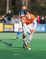 BLOEMENDAAL  - Jorrit Croon (Bldaal)    . Bloemendaal-Kampong (2-1).  hoofdklasse hockey mannen.   COPYRIGHT KOEN SUYK