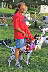 Dalmation & Owner